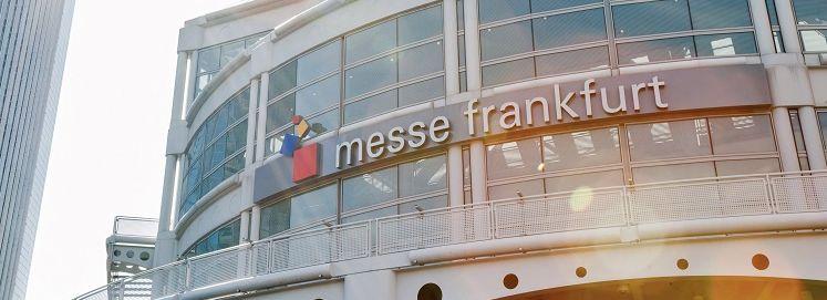 Messe_Frankfurt_Entrance_2 Die DWV ist offizielle Repräsentantin der Messe Frankfurt in Georgien und Armenien.